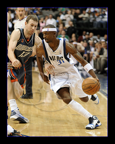 Jason the Jet Terry #31 in action against the Charlotte Bobcats