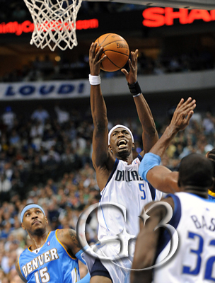 Josh Howard had a good night even though he was playing with two bad ankles