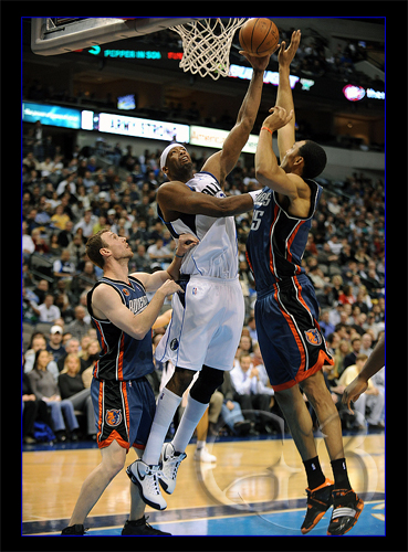 Better stand clear of Eric Dampier #25