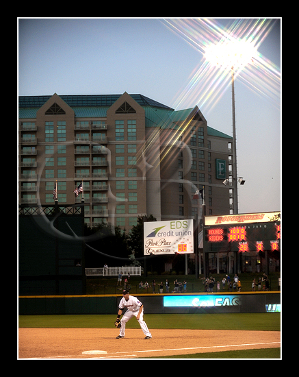 Stars at Night - Frisco first baseman Justin Smoak #12