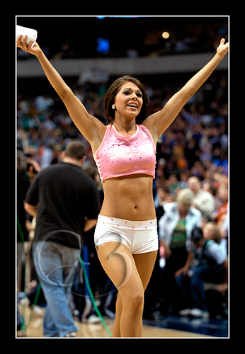 Dallas Mavericks Dancer Mallory Mills
