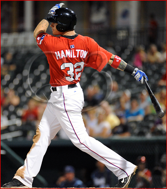Texas Ranger Josh Hamilton #32