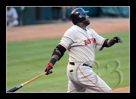 David Ortiz, 'Big Papi' of the Boston Red Sox at bat