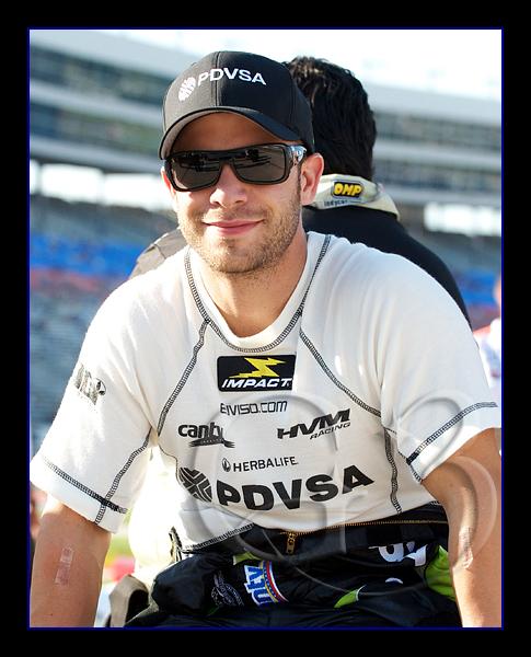 HVM Racing driver EJ Viso