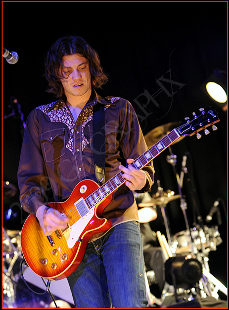 The Pretenders guitarist James Walbourne performs in support of their release of the Break Up The Concrete CD to a sold out crowd at the House of Blues in Dallas, TX