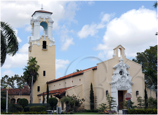 This is the church directly across the street from the Biltmore hotel.