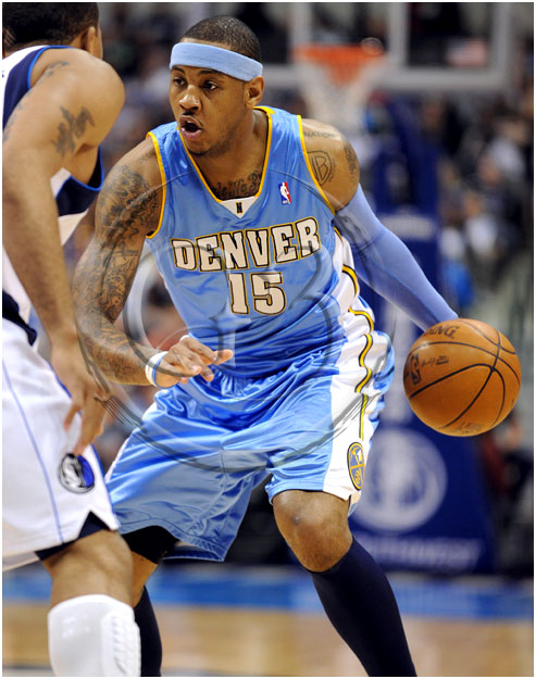 Carmelo Anthony #15 Denver Nuggets