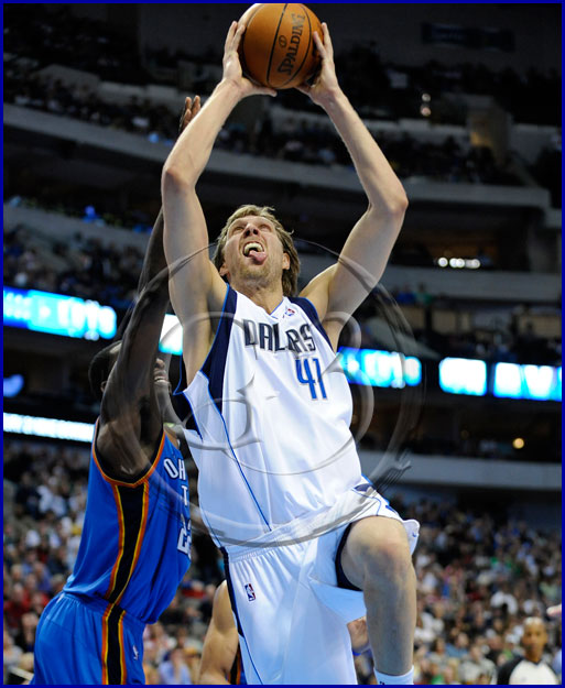 Dallas Mavericks forward Dirk Nowitzki #41