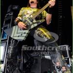 Five Finger Death Punch at the Mayhem Festival in Dallas, TX 2010
