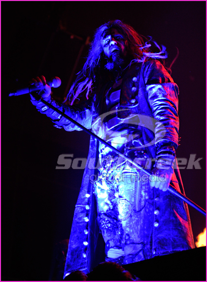 Rob Zombie at the Mayhem Festival in Dallas, TX 2010