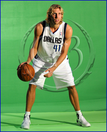 NBA Dallas Mavericks Media Day. Dirk Nowitzki, Caron Butler, Jason Terry, Shawn Marion, Jason Kidd, Tyson Chandler, Rodrique Beaubois, Coach Rick Carlisle