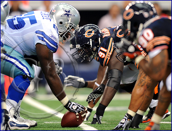 Chicago Bears v Dallas Cowboys, Cowboys Stadium, Arlington, TX