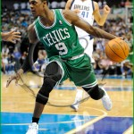 Dallas Mavericks vs Boston Celtics Rajon Rondo
