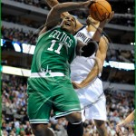 Dallas Mavericks vs Boston Celtics Glen Big Baby Davis