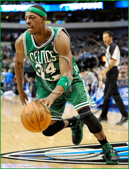Dallas Mavericks vs Boston Celtics Paul Pierce