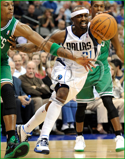 Dallas Mavericks vs Boston Celtics Jason 'The Jet' Terry #31