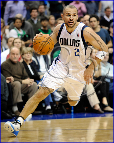 Dallas Mavericks vs Boston Celtics Jason Kidd #2