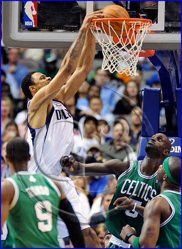 Dallas Mavericks vs Boston Celtics Tyler Chandler #6