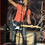 Dallas Cowboys vs New Orleans Saints - Halftime enterntainment country recording artist Keith Urban performs