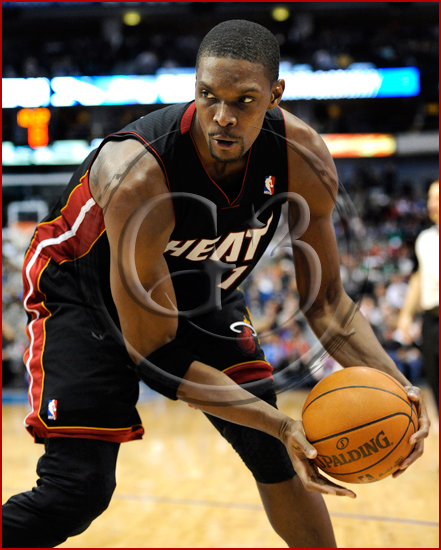 Dallas Mavericks vs Miami Heat - Chris Bosh #1
