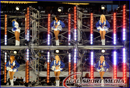 Dallas Cowboys vs New Orleans Saints - Dallas Cowboys Cheerleaders