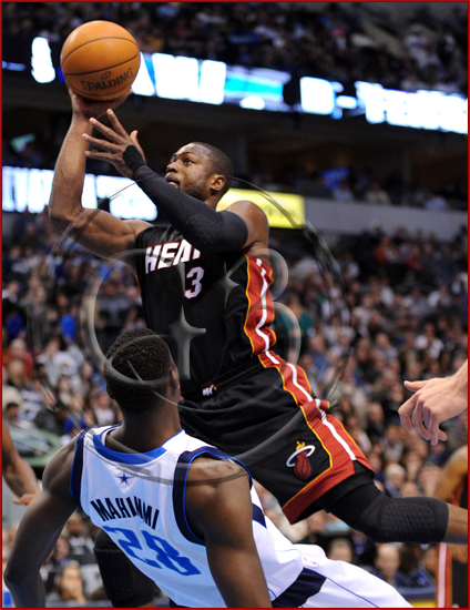 Dallas Mavericks vs Miami Heat - Dwyane Wade