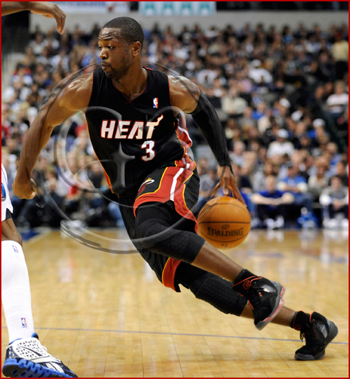 Dallas Mavericks vs Miami Heat - Dwyane Wade #3