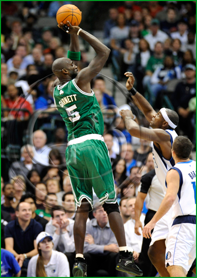 Dallas Mavericks vs Boston Celtics Kevin Garnett