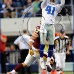Dallas Cowboys vs Washington Redskins Terrance Newman