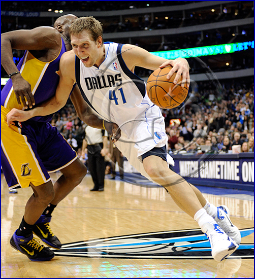 Dallas Mavericks v Los Angeles Lakers Dirk Nowitzki
