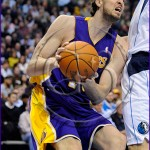 Dallas Mavericks v Los Angeles Lakers Pao Gasol from Spain