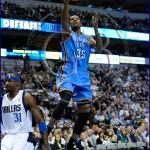 Oklahoma City Thunder vs Dallas Mavericks Kevin Durant