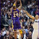 Dallas Mavericks v Los Angeles Lakers Kobe Bryant