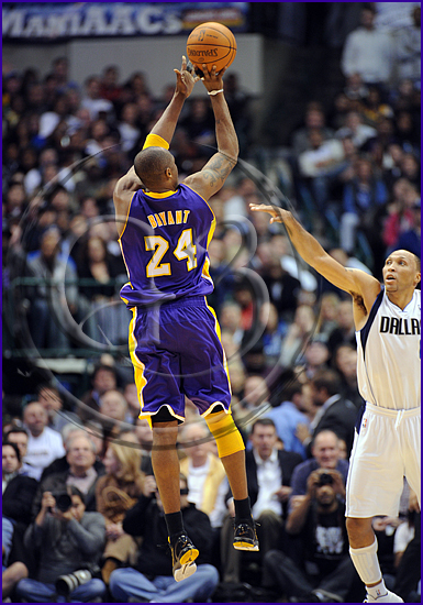 Dallas Mavericks v Los Angeles Lakers Kobe Bryant