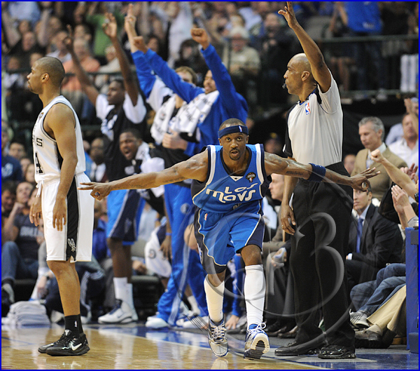 San Antonio Spurs vs Dallas Mavericks  Jason Terry