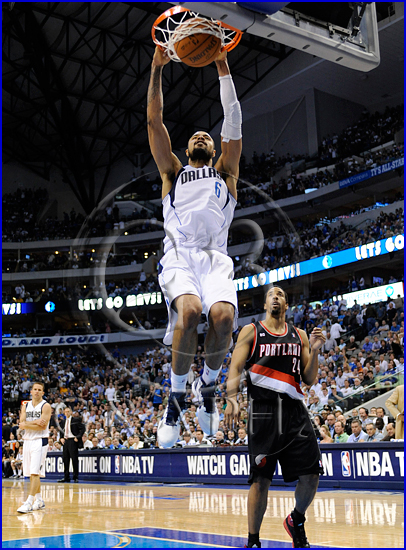 Dallas Mavericks v Portland Trail Blazers Playoffs Game 5 Tyson Chandler