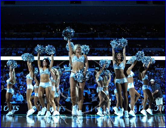 Dallas Mavericks v Portland Trail Blazers Playoffs Game 5 Mavericks Dancers