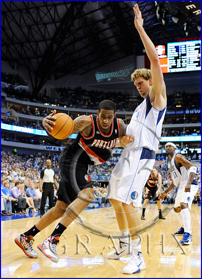 Dallas Mavericks v Portland Trail Blazers Playoffs Game 5 LaMarcus Aldridge