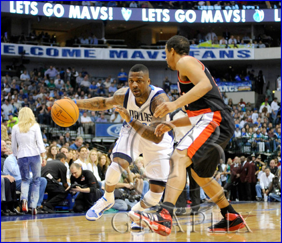 Dallas Mavericks v Portland Trail Blazers Playoffs Game 5 DeShaun Stevenson #92