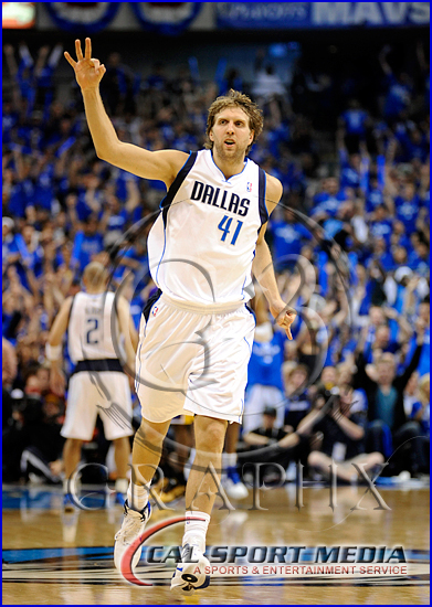 Los Angeles Lakers v Dallas Mavericks Playoffs Dirk Nowitzki