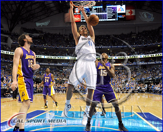 Los Angeles Lakers v Dallas Mavericks Playoffs Dirk Nowitzki #41