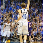 Los Angeles Lakers v Dallas Mavericks Playoffs Dirk Nowitzki #41