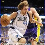 Los Angeles Lakers v Dallas Mavericks Playoffs Dirk Nowitzki