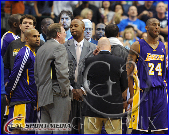 NBA 2011: Lakers vs Mavericks MAY 06