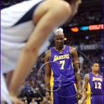 Los Angeles Lakers v Dallas Mavericks Playoffs Lamar Odom, Dirk Nowitzki