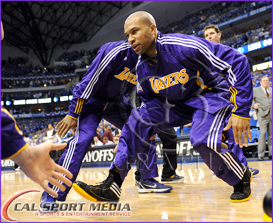 Los Angeles Lakers vs Dallas Mavericks Playoffs Derek Fisher