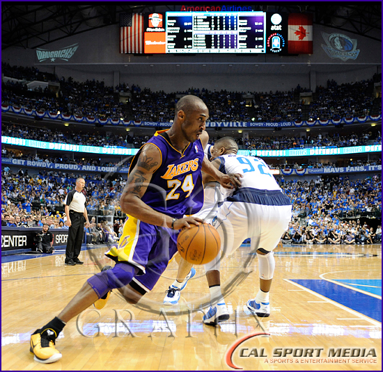 Los Angeles Lakers v Dallas Mavericks Playoffs Kobe Bryant