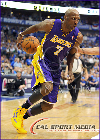 Los Angeles Lakers v Dallas Mavericks Playoffs Lamar Odom