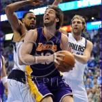 Los Angeles Lakers v Dallas Mavericks Playoffs Pau Gasol