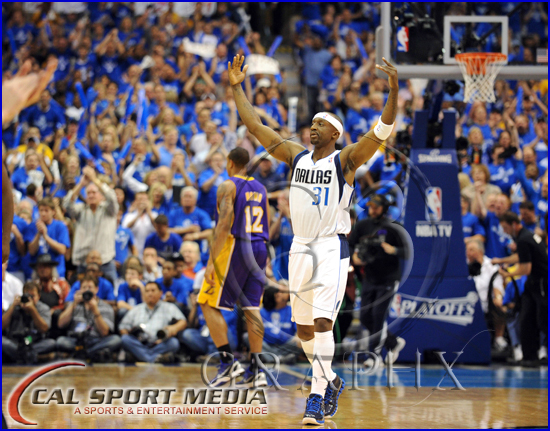 Los Angeles Lakers v Dallas Mavericks Playoffs Jason Terry Jet